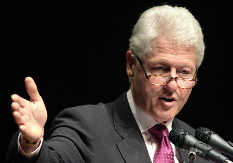 how tall is william clinton