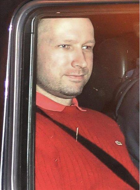 Fotografía tomada el 25 de julio de 2011 que muestra al autor confeso de los atentados de Oslo, Anders Behring Breivik. EFE/Archivo