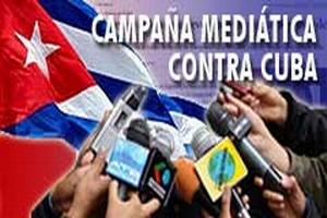 Resultado de imagen para manipulacion mediatica contra Cuba