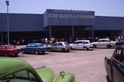 """Terminal 2 del Aeropuerto Internacional """"José Martí"""" por la que arriban los viajeros procedentes de Estados Unidos a La Habana"""