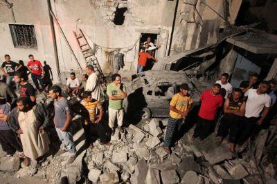 Otan bombardea zona residencial en Libia