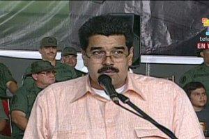 El vicepresidente venezolano, Nicolás Maduro, leyó la carta enviada por el mandatario Hugo Chávez.