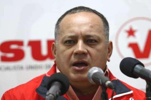 Diosdado Cabello, primer vicepresidente del PSUV