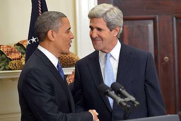 El presidente de EE.UU., Barack Obama, designó hoy al senador John Kerry como su próximo secretario de Estado
