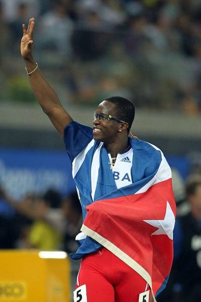 Dayron Robles solicitó su baja de la selección nacional. Foto: IAAF