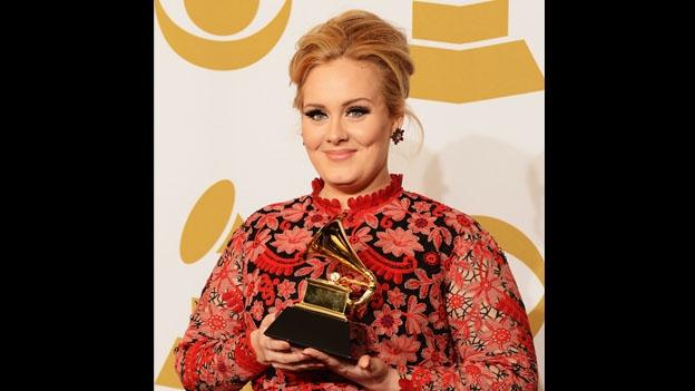 La cantante británica Adele conquistó un Grammy en la categoría de Mejor interpretación solista pop (Getty Images)