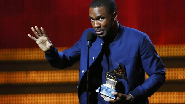 Frank Ocean, con el premio de Mejor álbum urbano contemporáneo, por 'Channel Orange' (Reuters)