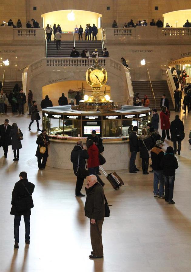 La estación Grand Central de Nueva York cumple 100 años de viajes, cine y mucho turismo