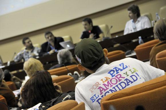 II Taller Internacional sobre las redes sociales y los medios alternativos, nuevos escenarios de la comunicación política en el ámbito digital FOTO: Roberto Suárez