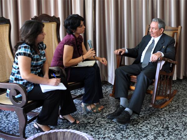 Raúl Castro Ruz, Presidente de los Consejos de Estado y de Ministros de Cuba.Autor: Estudios Revolución
