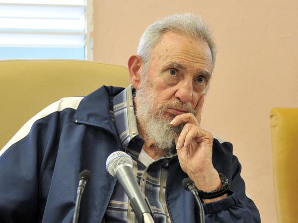Al inaugurar el centro, Fidel destacó el esfuerzo y abnegación de los constructores. Autor: Estudios Revolución