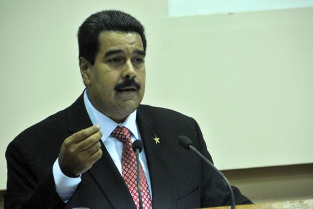 Nicolás Maduro, Presidente de la República Bolivariana de Venezuela FOTO: Roberto Suárez