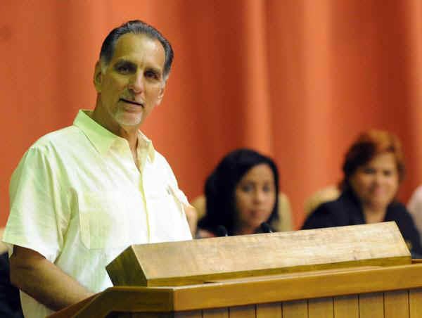 René González, uno de los Cinco Héroes antiterroristas cubanos condenados injustamente en EE.UU.