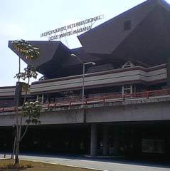 Terminal número tres del aeropuerto internacional José Martí