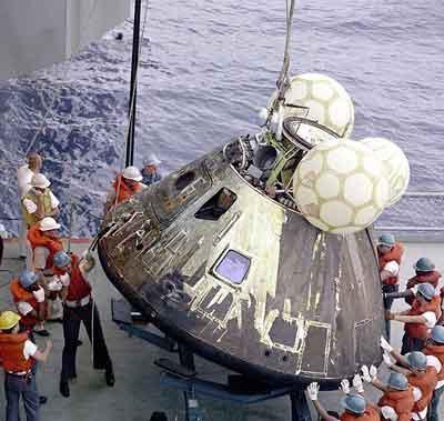 Módulo de comando del Apolo 13
