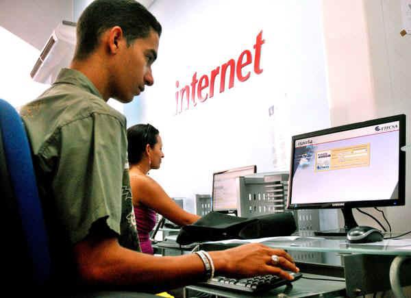 Constituye una estrategia del país el incremento de los servicios de Internet a la población
