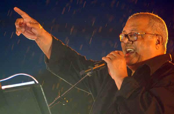 Cantautor cubano Pablo Milanés