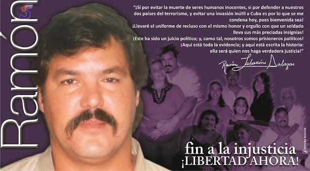 Ramón Labañino camina con dificultad debido a la falta de una adecuada atención médica, declaró en esta ciudad peruana su esposa, Elizabeth Palmeiro.