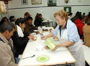 Valencia: el 50% de los valencianos pobres, sin comida en Navidad