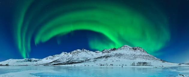Auroras boreales a la vista En la isla Kvaloya podemos ver la aurora boreal. © Thilo Bubek / Veolia Environnement Wildlife Photographer of the Year 2012