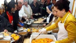 Los políticos niegan o silencian que en España se pase hambre, y aún más en Navidad