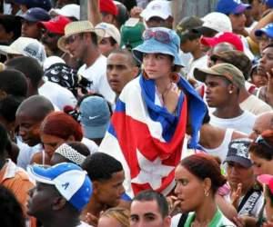 Jóvenes cubanos. Foto: Kaloian