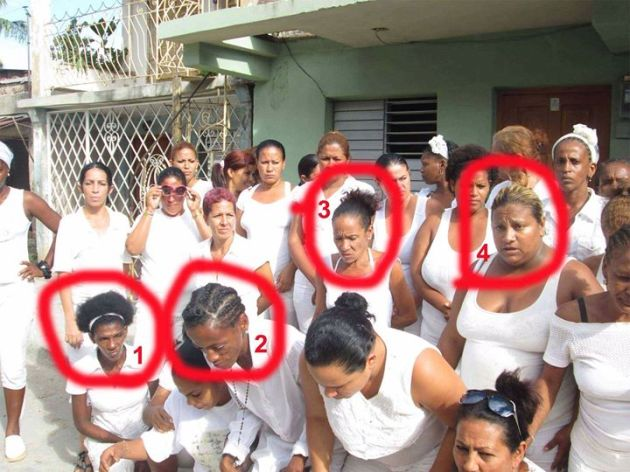 Damas de Blanco