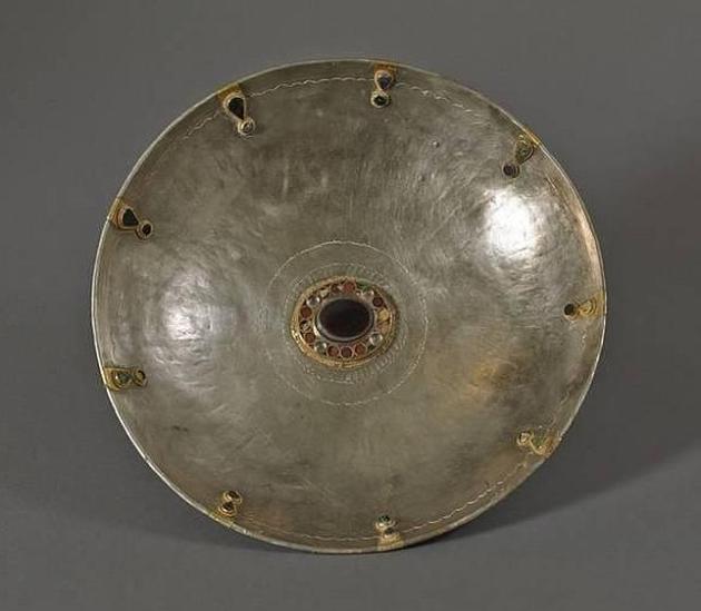 Una de las piezas halladas junto al Rin