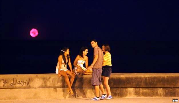 luces en La Habana