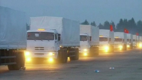 Moscú pide a Kiev garantizar llegada de ayuda humanitaria a Donetsk y Lugansk FOTO: © REUTERS/ Reuters TV