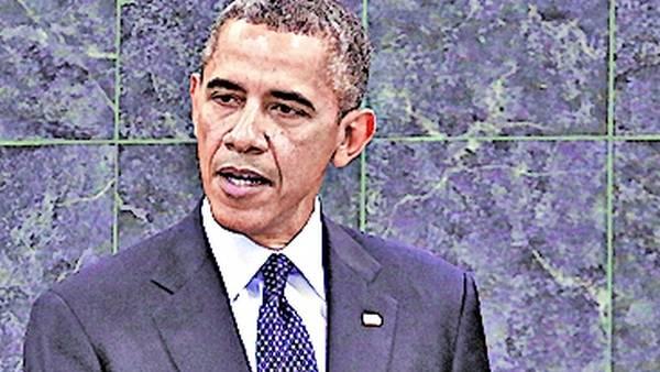 Mandatario. Barack Obama.