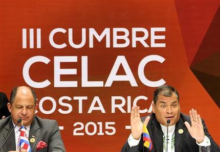 Rafael Correa, Luis Guillermo Solis