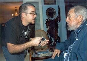 Randy Perdomo y Fidel, el pasado 23 de enero.