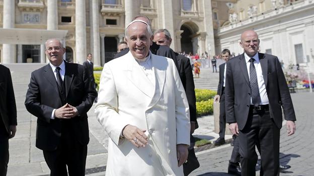 El papa visitará Ecuador, Bolivia y Paraguay en julio, así como Estados Unidos en septiembre (Reuters).