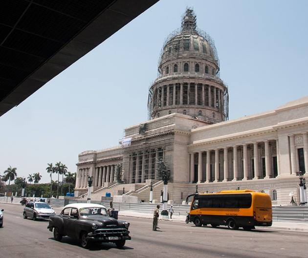 Capitolio Nacional de La Habana.  FOTO: Roberto Suárez