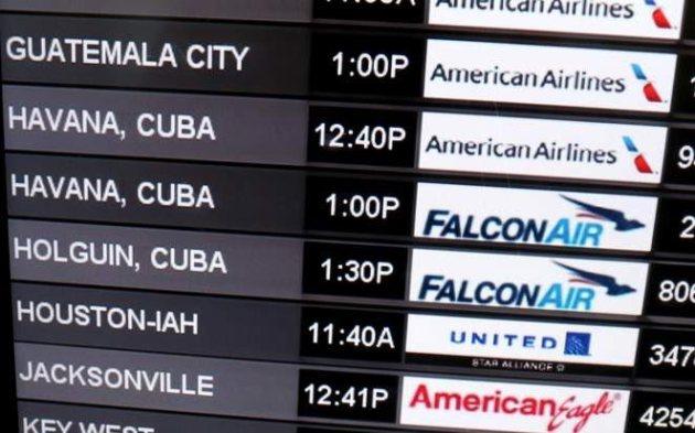 pizarra-vuelos-miami-cuba